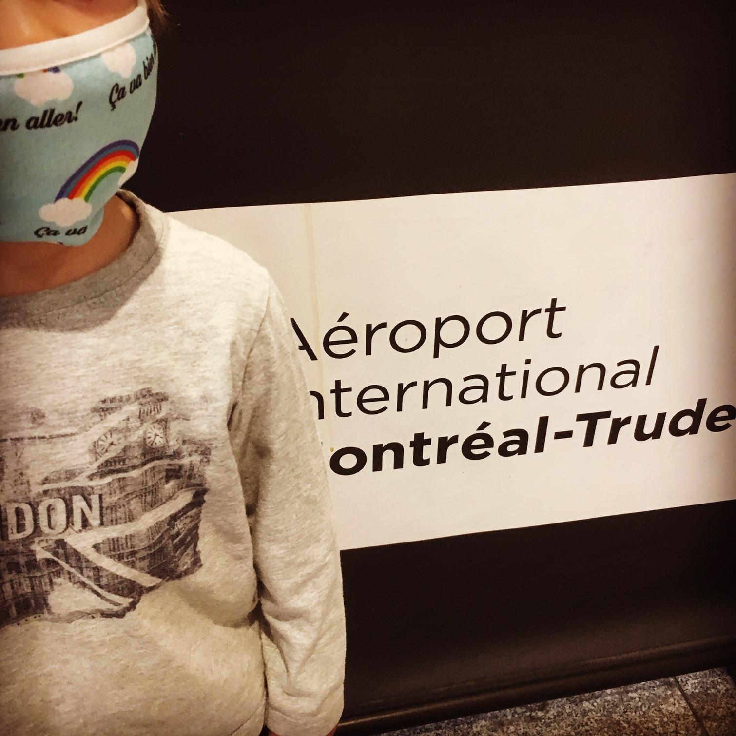 Récit d'un voyage en avion entre Montréal et Paris pendant la crise du Coronavirus