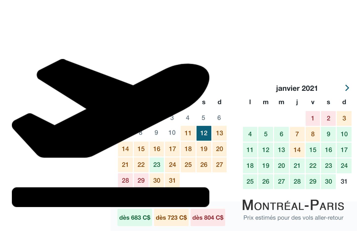 Le Québéc, le Canada ou la France pour les fêtes de fin d'année ?
